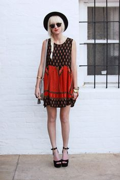 Love this boho look for summer!