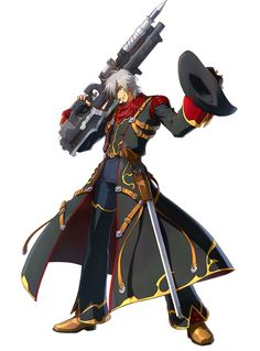 Haken Browning - Characters & Art - Project X Zone