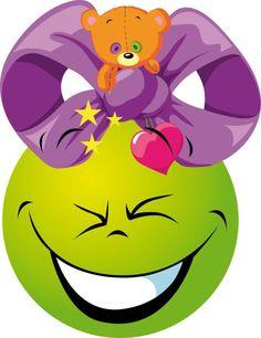 Yo utilizo simplemente la pantalla del ordenador para enseñar a mi hija las bolas. Abriendo cada imagen por separado, comentamos las emociones: alegre, enfadado, sorprendido, etc. Mírame y aprender… Christmas Emoticons, More Emojis, Emoticon Faces, Smiley Faces, Rosalie, Smiley Emoji, Tweety, Compliments, Pikachu