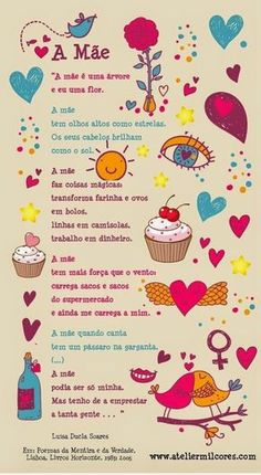 Frases e Posts Mather Day, Diy And Crafts, Crafts For Kids, Mom Day, Mothers Day Crafts, Minnie, School Projects, Valentines, Birthdays