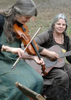 Kay & Peggy by John C. Campbell Folk School, via Flickr | Visit us at www.folkschool.org to find out more about our classes