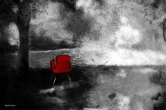 Chair Graphic Art on Canvas