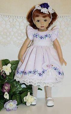 """Spring Fever Collection Shy Violet Fits 13"""" Effner Little Darling   eBay"""