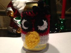 A Christmas gift bottle/can cozy...