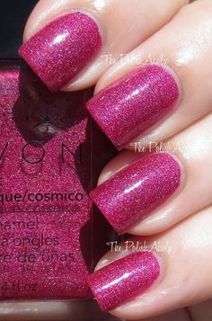 Avon Cosmic Collection Swatches starbust