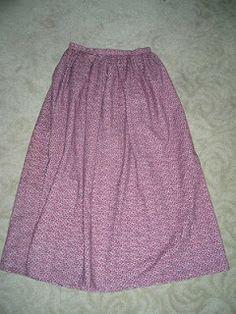 pioneer skirt tutorial trek