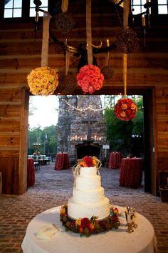 Swann Lake Stables wedding, barn, fall wedding