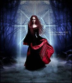 Eternal Beauty by SuzieKatz on DeviantArt Dark Gothic Art, Dark Fantasy Art, Fantasy Girl, Fantasy Rpg, Witch Pictures, Gothic Pictures, Fantasy Pictures, Dark Beauty, Gothic Beauty