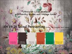 AW2019/2020 Trend forecasting on Pantone Canvas Gallery