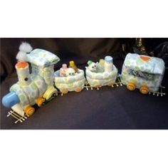 judicakes - Train Diaper Cake Baby Shower Theme