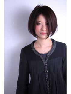 [ASSORT] ディスコネクション 前下がりボブ - 24時間いつでもWEB予約OK!ヘアスタイル10万点以上掲載!お気に入りの髪型、人気のヘアスタイルを探すならKirei Style[キレイスタイル]で。
