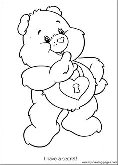Care Bears Coloring 115