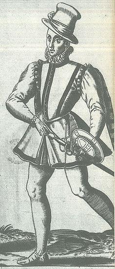 Circa 1550s, Young Middleclass Englishman