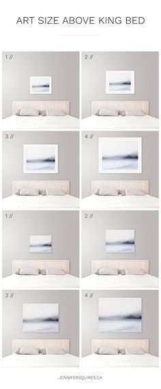 Art Size For Above The Bed