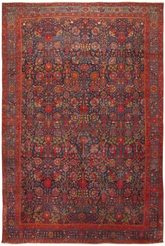 Antique Persian Kurdish Rug 46363 Main Image - By Nazmiyal