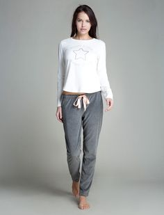 women'secret | Productos | Pijama largo de velour