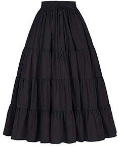 Cotton Maxi Skirts, Long Maxi Skirts, Boho Skirts, Boho Gypsy, Fashion Wear, Fashion Outfits, Gypsy Fashion, Mode Streetwear, Alternative Outfits