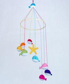 crochet baby mobile free pattern - Google Search