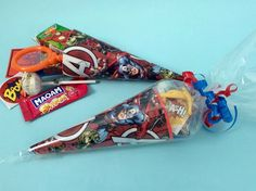 x1 Avenger/Captain America/Super Hero/Party bags/Party Supplies/Sweet Cones