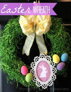 #Easter Wreath Tutorial