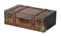 "Old Style Suitcase With Stripes - 13"" Quickway Imports http://www.amazon.com/dp/B005JTHSFW/ref=cm_sw_r_pi_dp_TpD8vb0BFRCAQ"