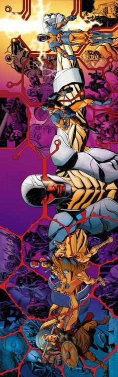 X-O Manowar by Dave Johnson *