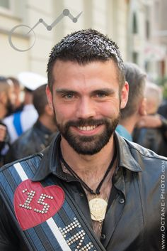 At #FolsomEurope  Berlin 2015. Andy Cross, International #MrLeather 2015. Pic ©Octane Photography, 2014.