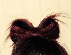 """cute """"hair bow"""""""
