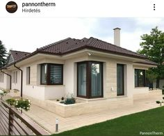 House Roof Design, House Outside Design, Small House Design, Dream Home Design, Home Design Plans, My Dream Home, Modern House Plans, House Painting, Ideal Home
