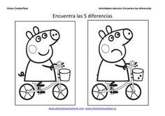 Sistema Visual, Hidden Pictures, My Children, Kids, Preschool Worksheets, Peppa Pig, Math Lessons, Pre School, Literacy