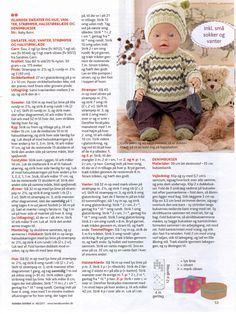 Albumarkiv - Baby Born & Build-a-Bear 5 Knitting Dolls Clothes, Knitted Dolls, Doll Clothes Patterns, Baby Patterns, Knitting Patterns, Baby Knitting, Crochet Baby, Baby Food Combinations, Baby Born Clothes