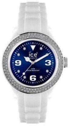 Mit ihren farbenfrohen und abwechslungsreichen Uhrendesigns steht die Uhrenmarke Ice-Watch aus Belgien hoch im Trend. Fans aus aller Welt begeistern sich für die präzisen Quarz-Uhrwerke und die hochwertige Verarbeitung im revolutionären Look von Ice-Watch.  Die Ice-Watch IB.ST.WBE.U.S.11 der Kollektion Ice Blue hat ein weißes Kunststoffgehäuse und ein weißes Armband aus Silikon. Das Band kann mit einer Dornschließe geöffnet und geschlossen werden. In diese Uhr wurde ein Werk von Miyota…