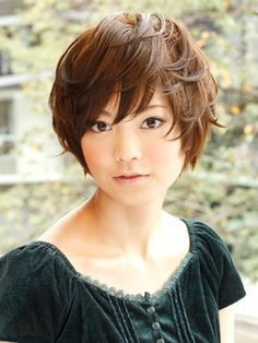 Cute Japanese Asian Short Hairstyles 2012 For Women-2013 | Haircuts 2012