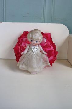 Bisque Porcelain Flapper Kewpie Doll by MaxandMaddieVintage