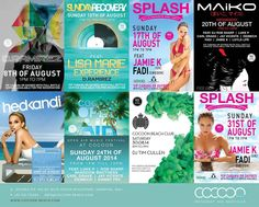 This is it people.... August.. get your party pants ( or bikinis) on.