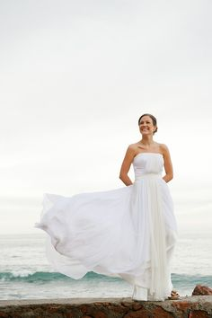 It's usually veils blowing in the wind that we pin! Isn't this a beautiful shot! Photography by nyholt.com