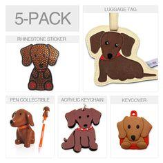 {Dachshund Gift Pack} FouFou Dog - I admit it, I want this.