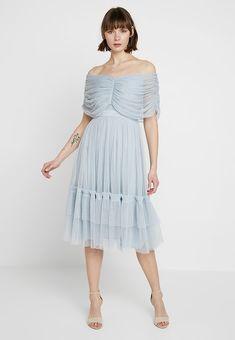 5bc3145f473b Anaya with love ANAYA WITH LOVE GATHERED BARDOT MIDI DRESS -  Cocktailkleid festliches Kleid -