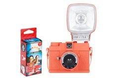 Diana Mini & Flash Coral Fusion Starter Pack - Camera Deals & Bundles - Cameras - Lomography Shop