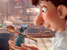 """It sounds like ""rat"" and ""patootie"" ratpatootie, and that does NOT sound delicious""--Ratatouille"