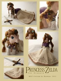 Princess Zelda Pony!