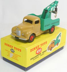 Dinky Toys 430 Commer Breakdown Lorry Tow Truck Wrecker