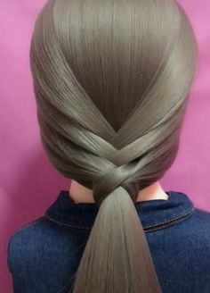 Elegant Hairstyle Idea for Long Hair – Frisuren Easy Hairstyles For Long Hair, Braids For Long Hair, Elegant Hairstyles, Cute Hairstyles, Braided Hairstyles, Hairstyles Videos, Wedding Hairstyles, Braids Easy, Anime Hairstyles