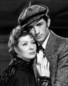 thisisnodream:  Greer Garson and Gregory Peck in The Valley of Decision, 1945.