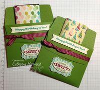 321 Stamp: Launching Creativity: Envelope Liner Framelits Treat Holder