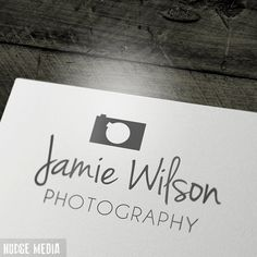 Premade Photography Logo    for Photographers by NudgeMediaDesign, $18.00