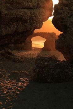 Nerja, Andalusië - I stood here on my honeymoon
