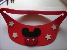 Brindes - Viseira Em Eva Personalizada Do Mickey