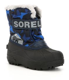 e60a984ded1ddf Shop for Sorel Boys  Commander Waterproof Cold Weather Snow Boots at  Dillards.com.