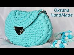 Трендовая сумка из трикотажной пряжи. Мастер класс. rendy crochet bag - YouTube